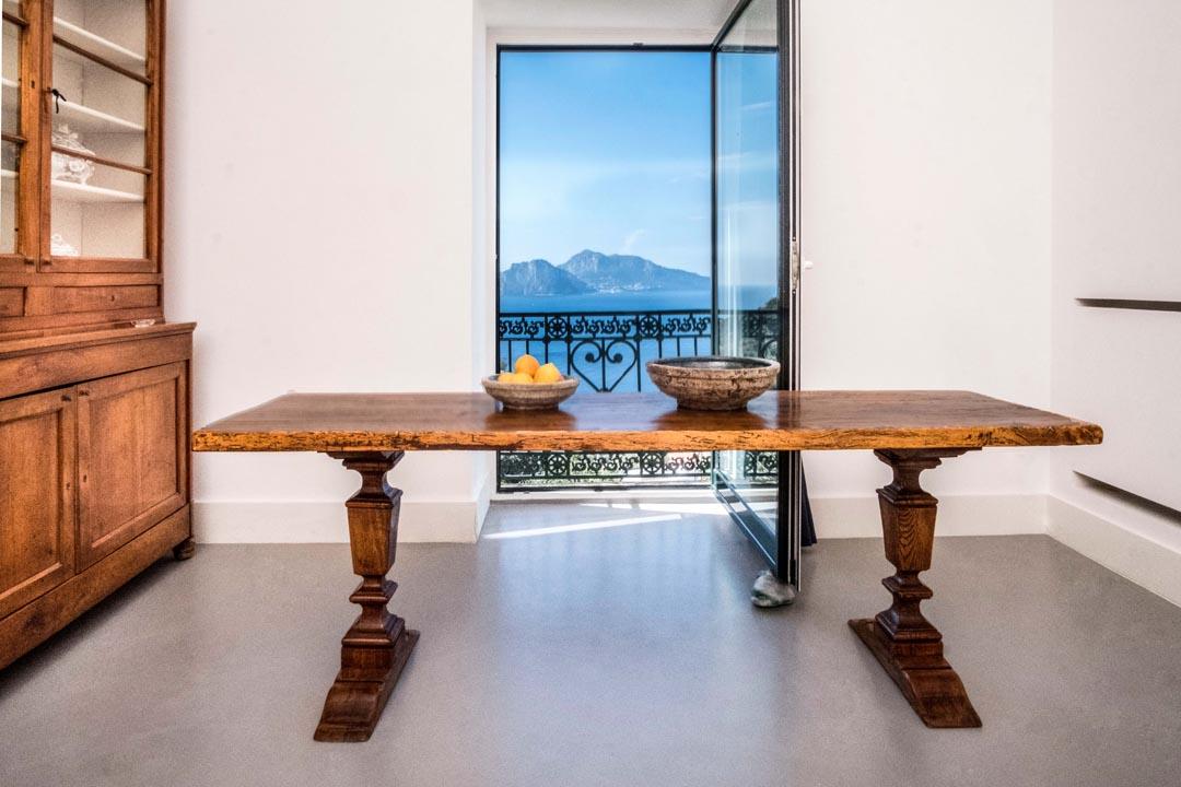 Fantastic Living Room with Capri View - VILLA MARCIANO CAPRI VIEW