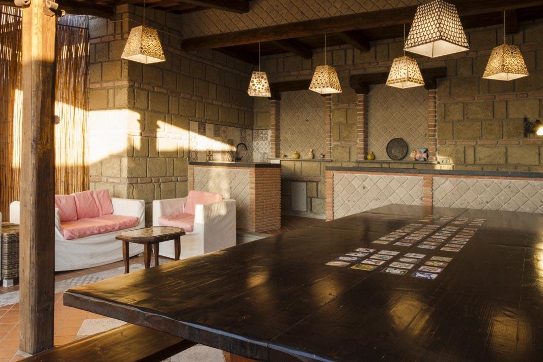 Outdoor kitchen and BBQ area - SEAVIEW & ELEGANT VILLA