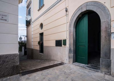 Villa Capri view door