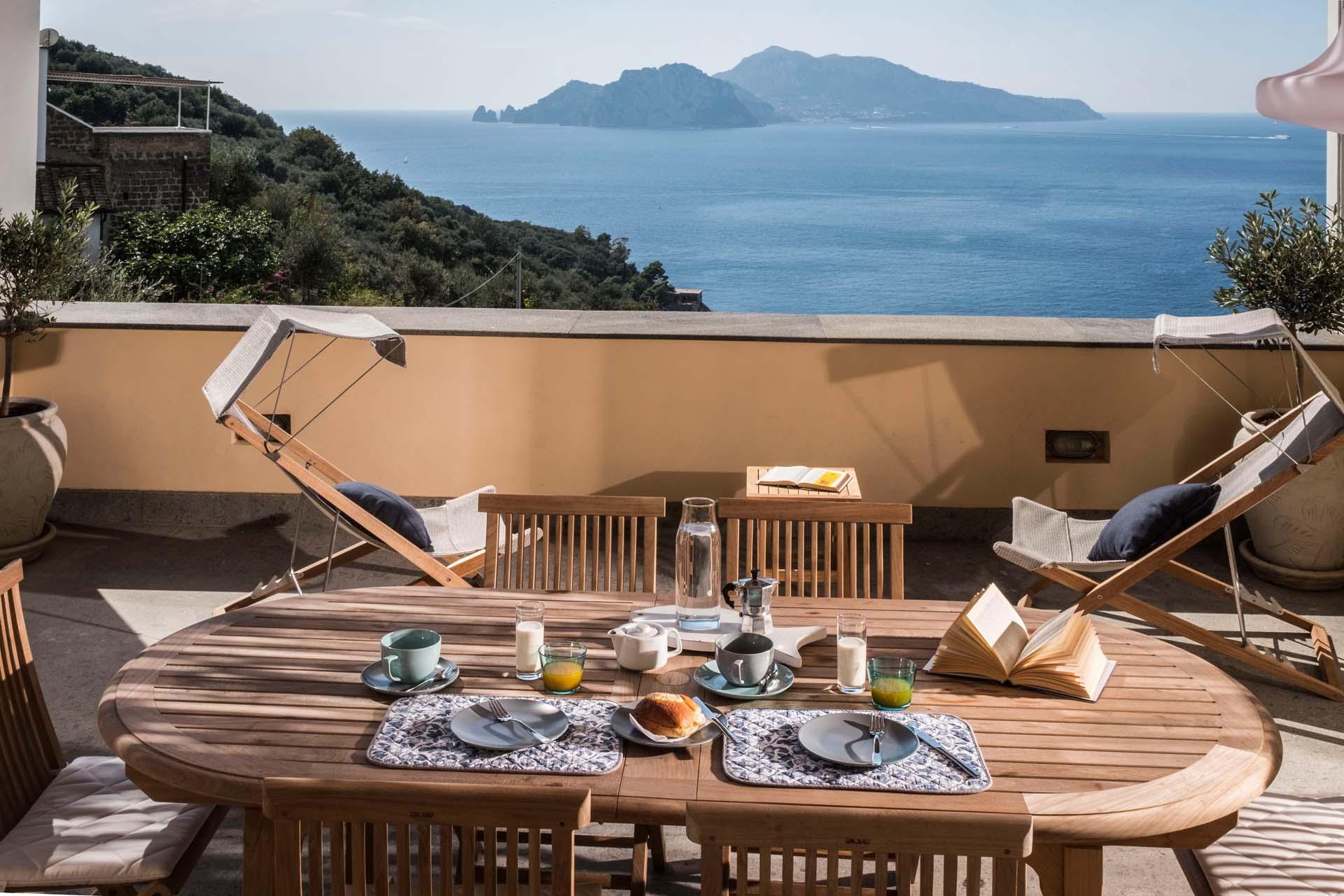 Villa Capri View on Sorrento Coast