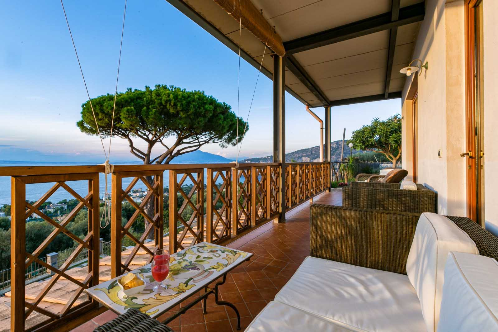 Luxury Sorrento Villa with Sea View