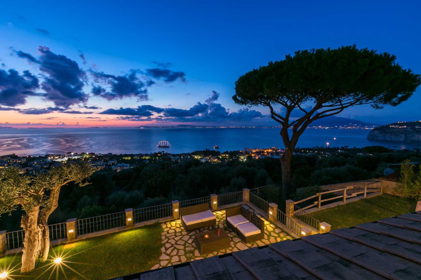 Luxury Sorrento Villa with Sea View