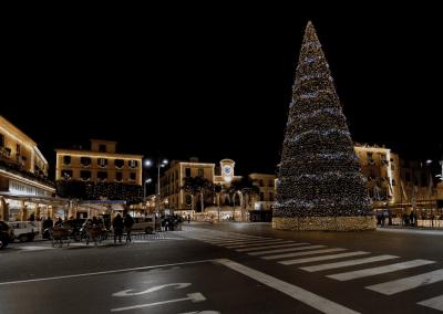 Luminare in Piazza Tasso a Sorrento