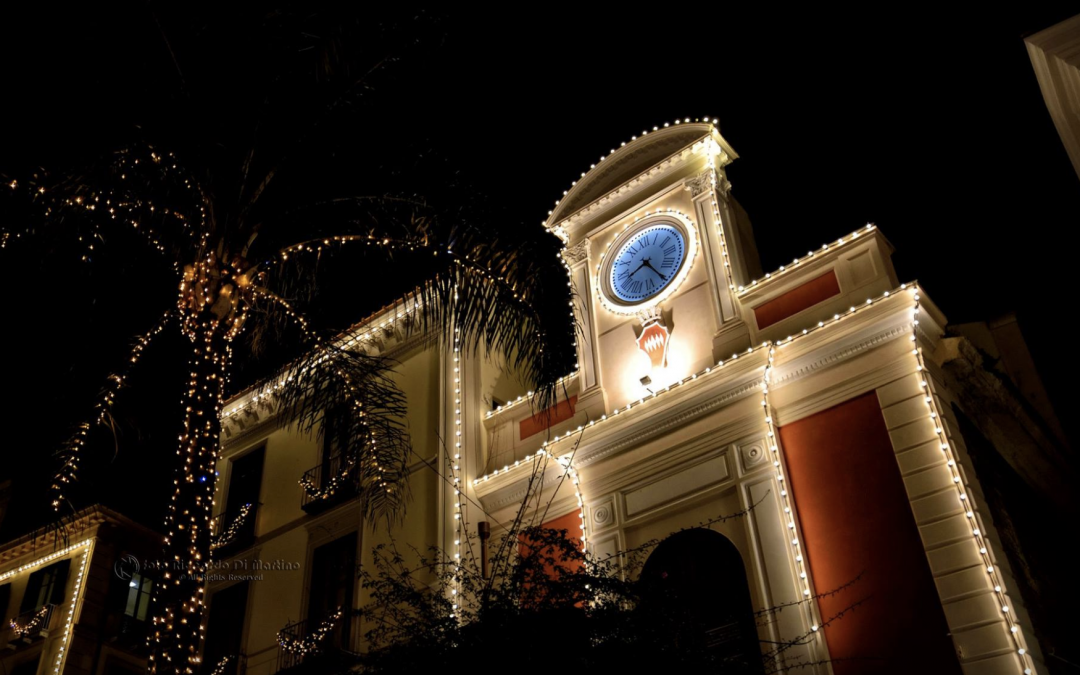 Christmas in Sorrento 2018 | Lights and decorations, map and info