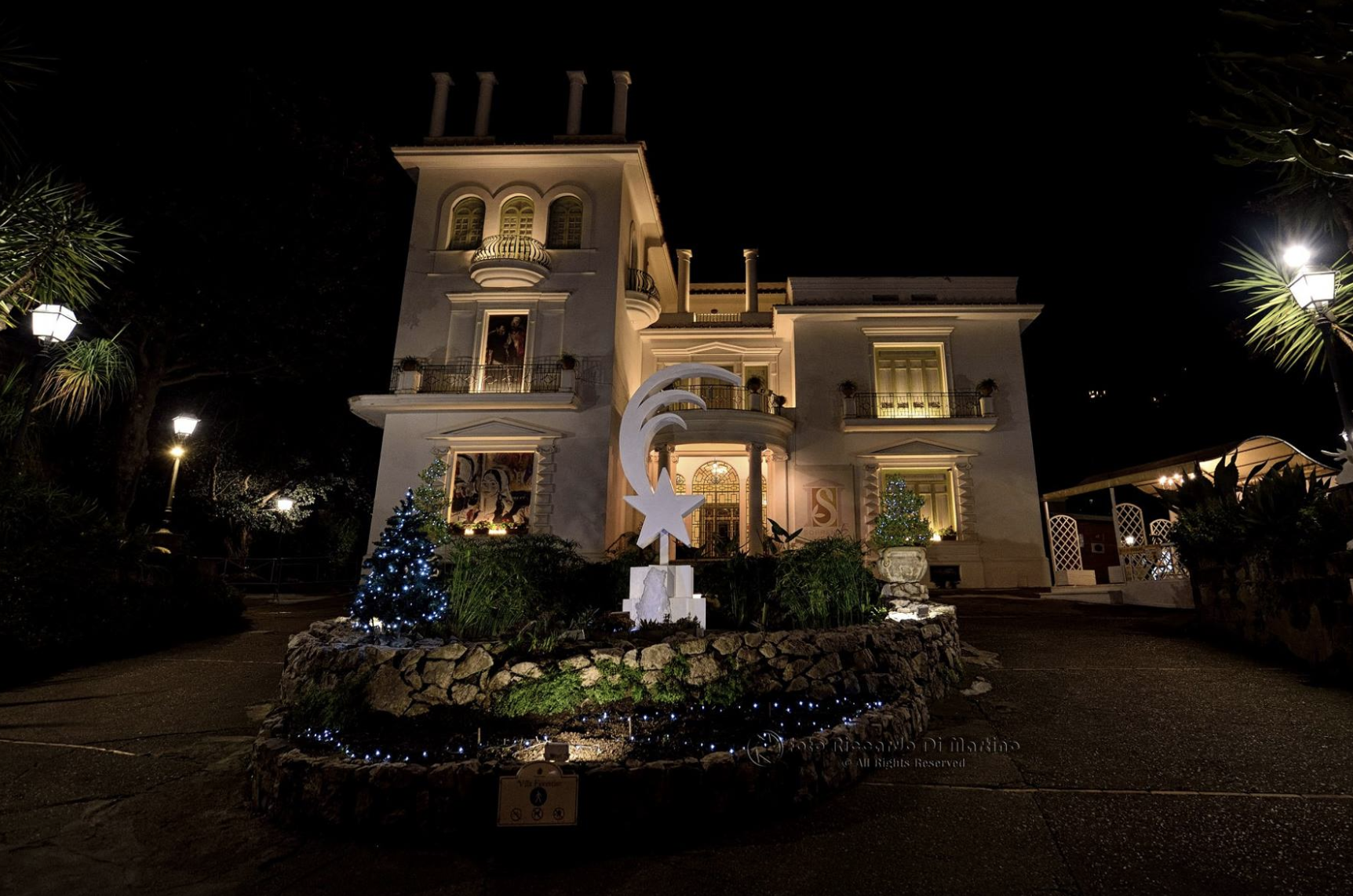 Villa Fiorentino hosts the Santa Claus Village