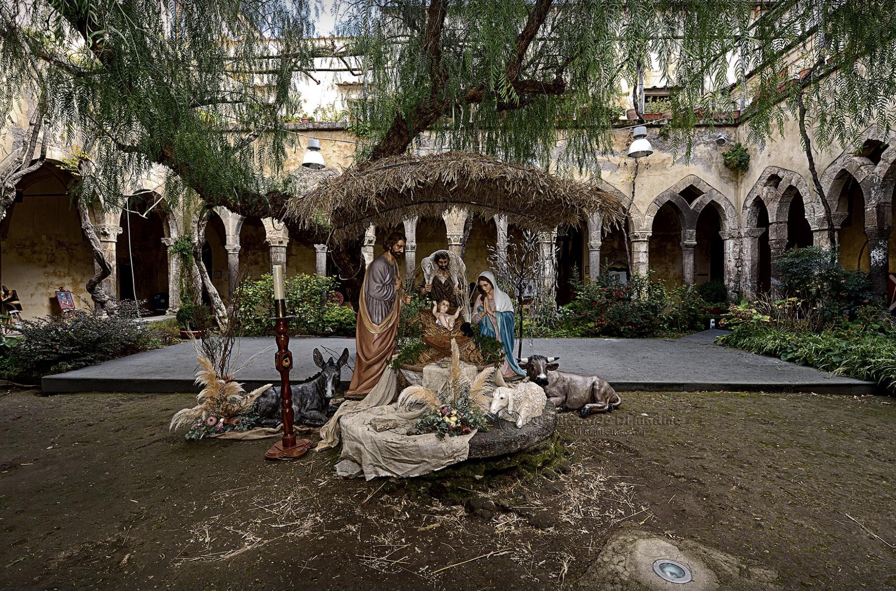 Christmas In Sorrento 2019 Nativity Scenes Itinerary Map