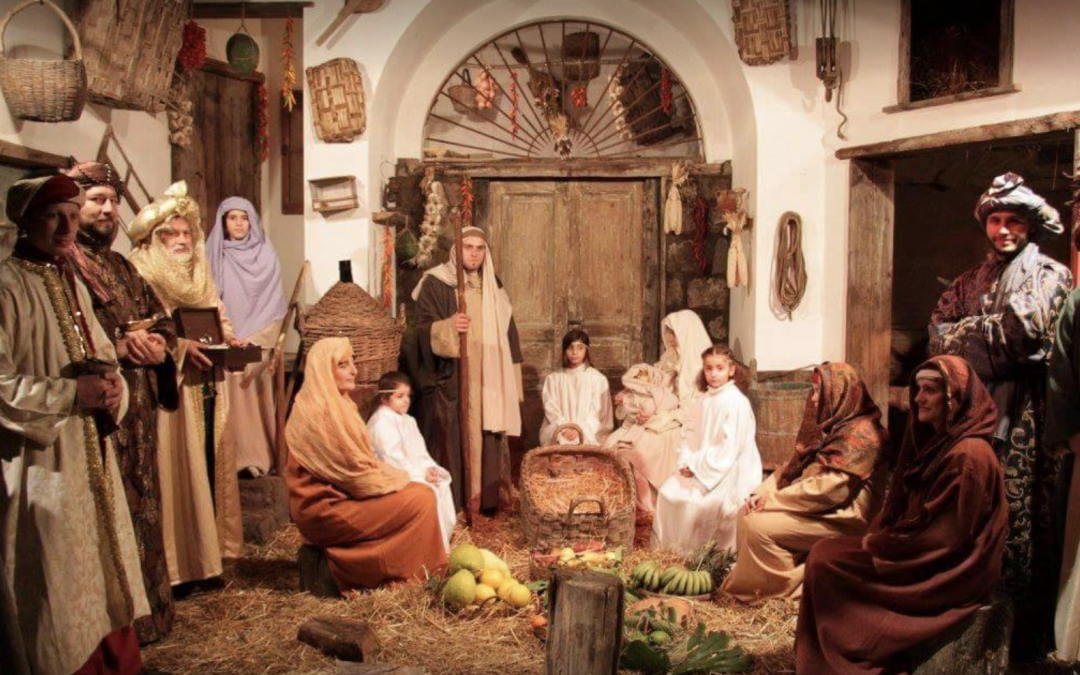 Christmas in Sorrento 2018 | The Living Nativity Scene, a unique experience