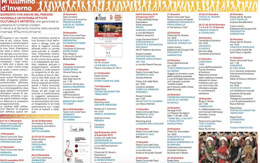 Natale a Sorrento 2018 |  Concerti ed eventi musicali, info e guida