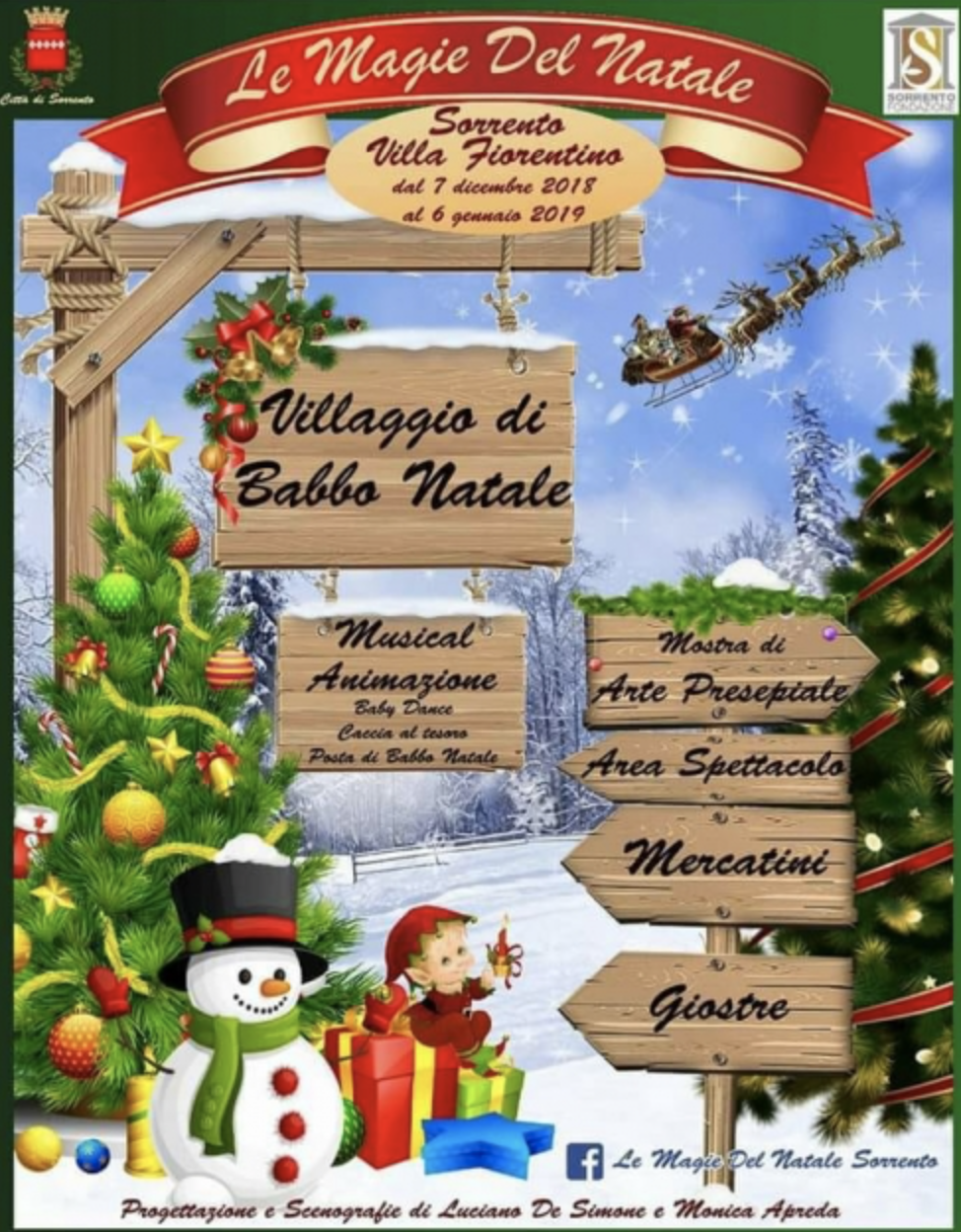 Natale A Sorrento 2018 Il Villaggio Di Babbo Natale Sorrentovibes