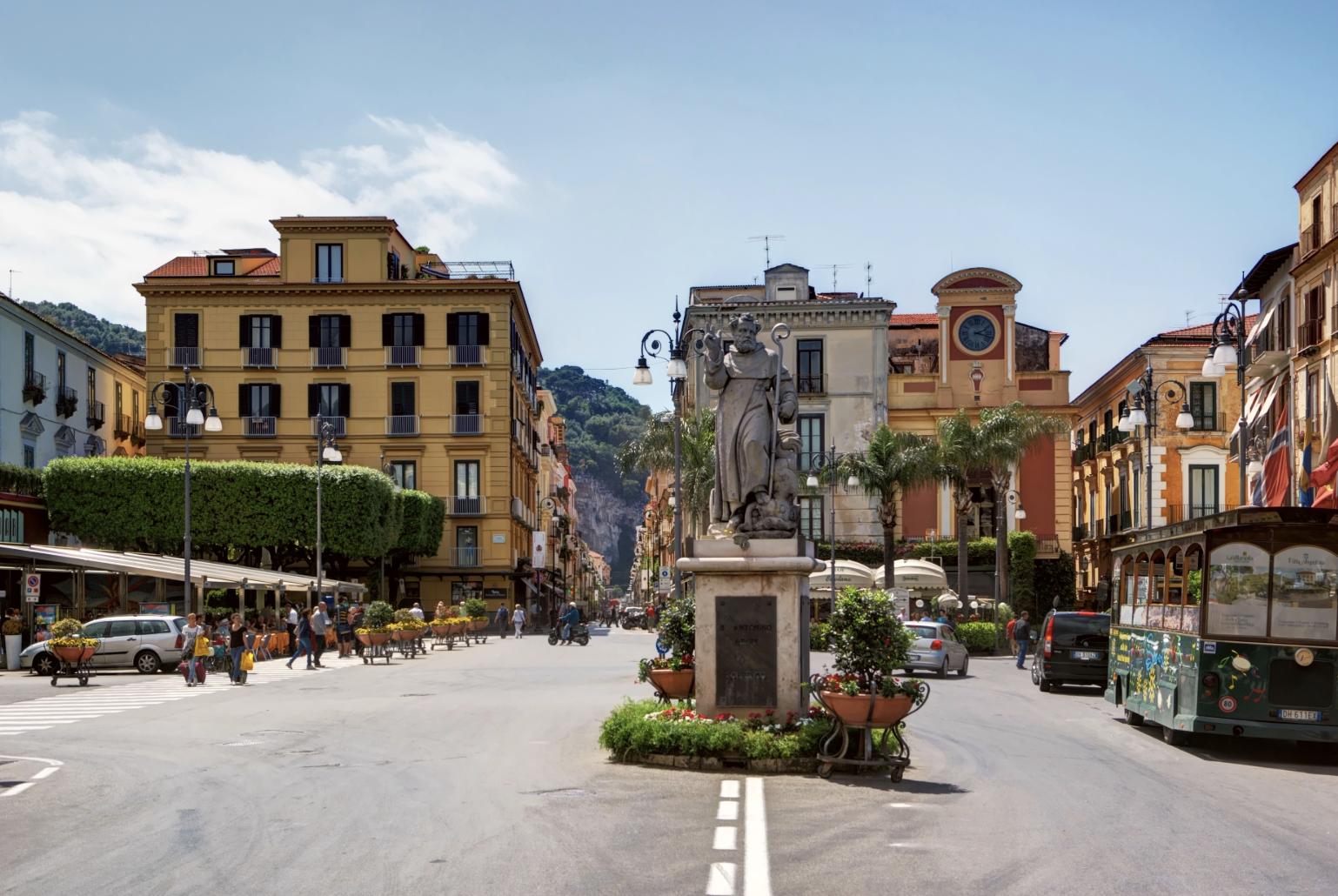 Piazza Tasso, Sorrento