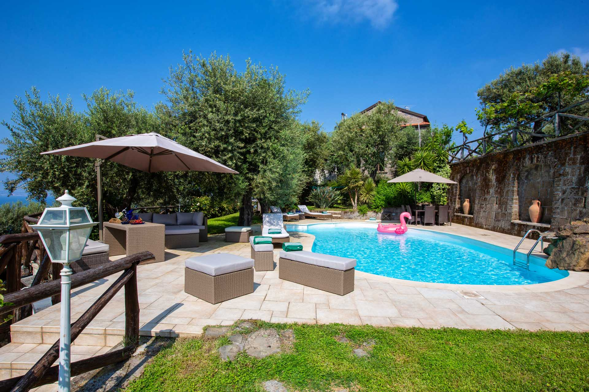 Villa with swimming Pool in Sorrento