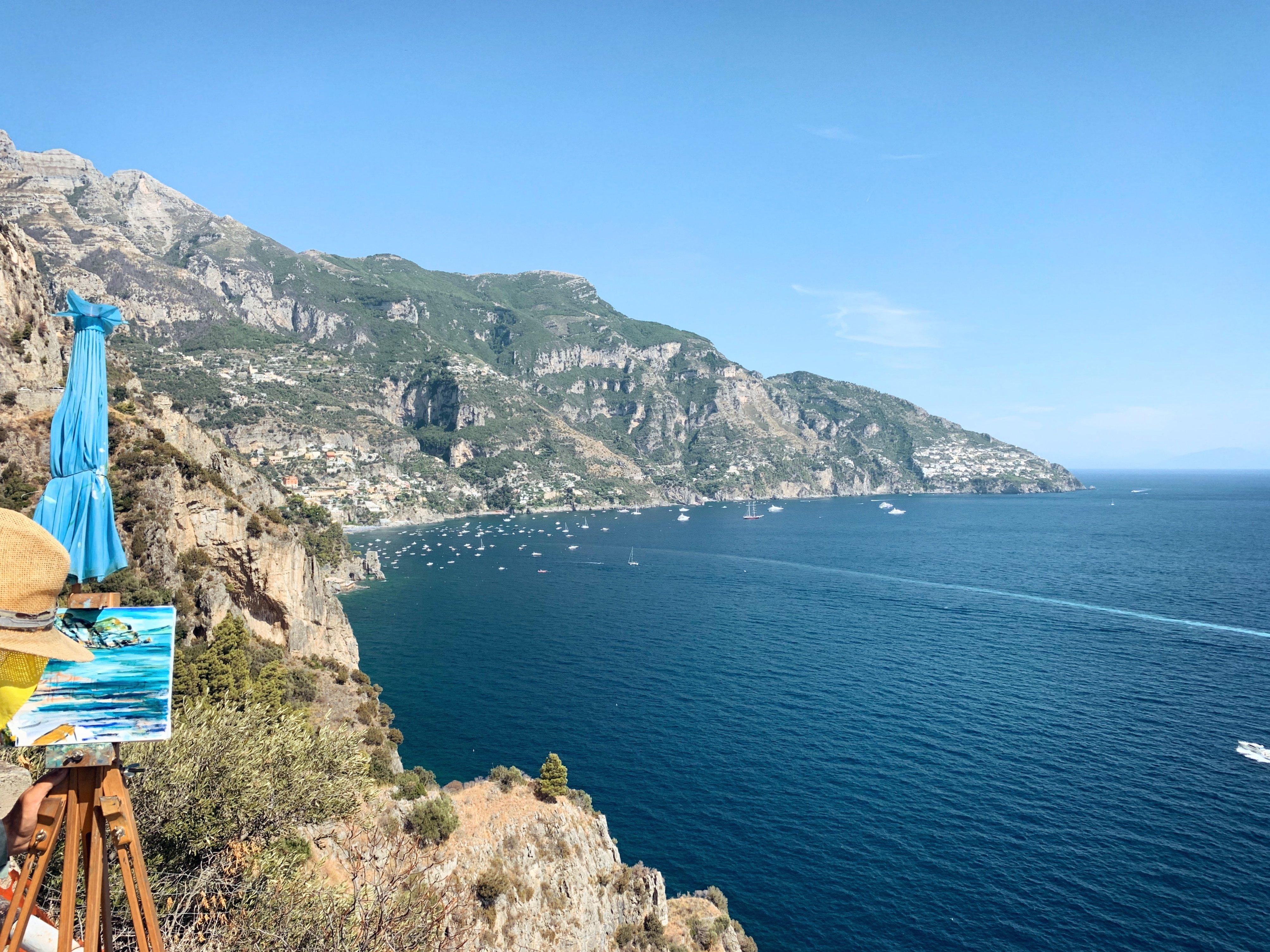 Amalfi Coast, postcard from Positano and Praiano
