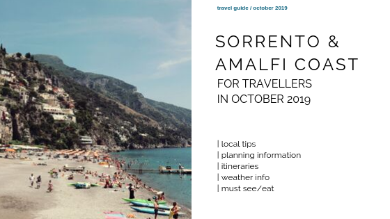 Sorrento in October 2019 – Events, food festivities and concerts