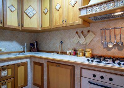Il Vicoletto Sorrento kitchen