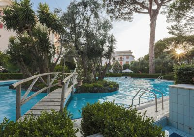 Valeria's home swimming pool