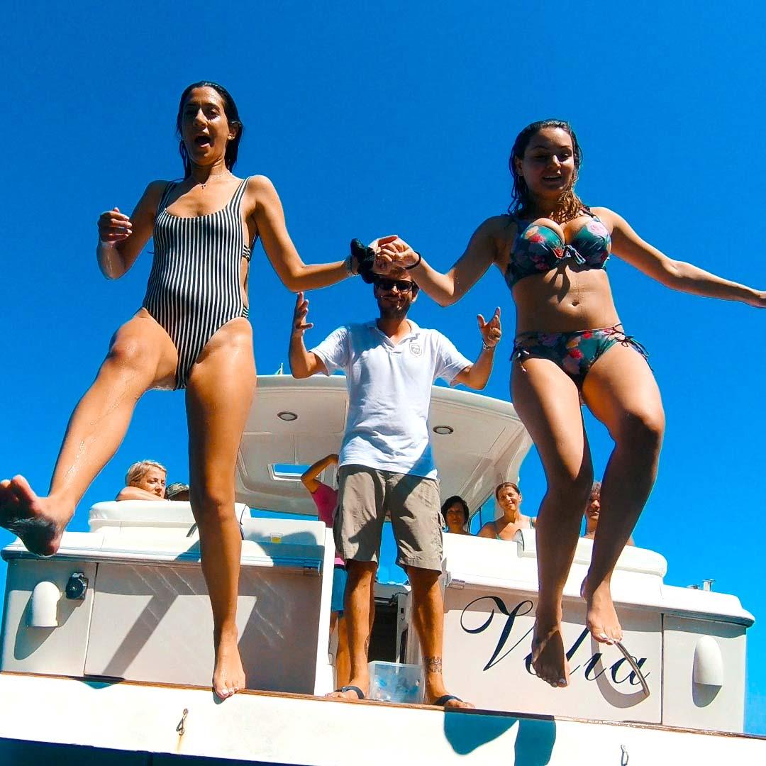 Capri boat tour from Sorrento port