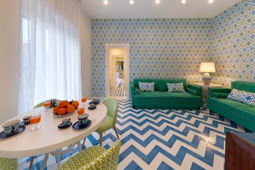 Libeccio apartment living room
