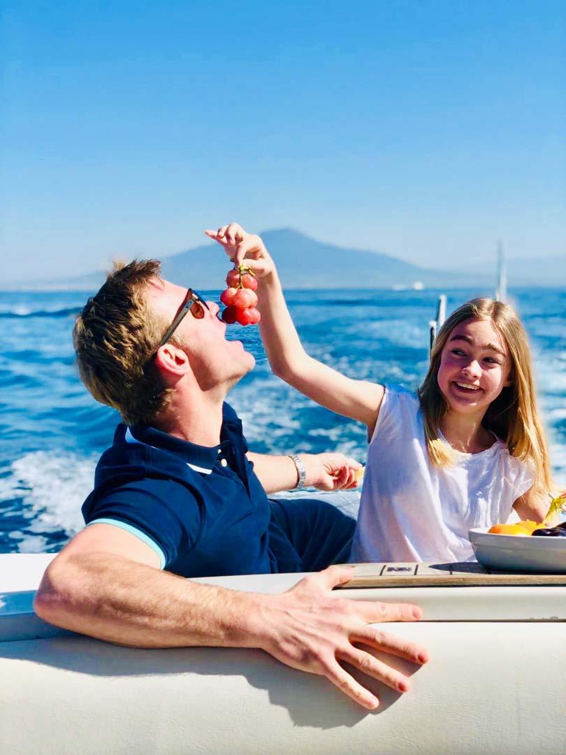 Private luxury boat tour to Capri