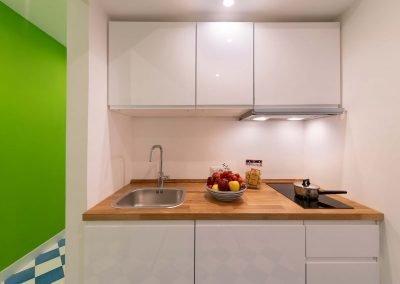 Scirocco apartment kitchen