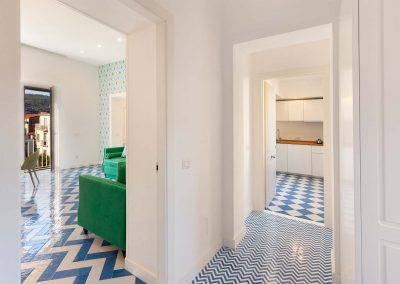 Scirocco apartment living room