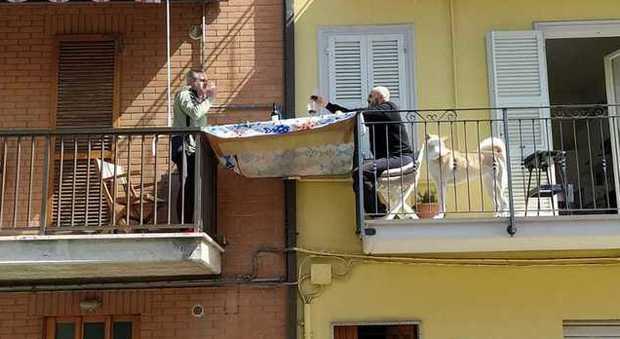 Lunch in Italy during Coronavirus