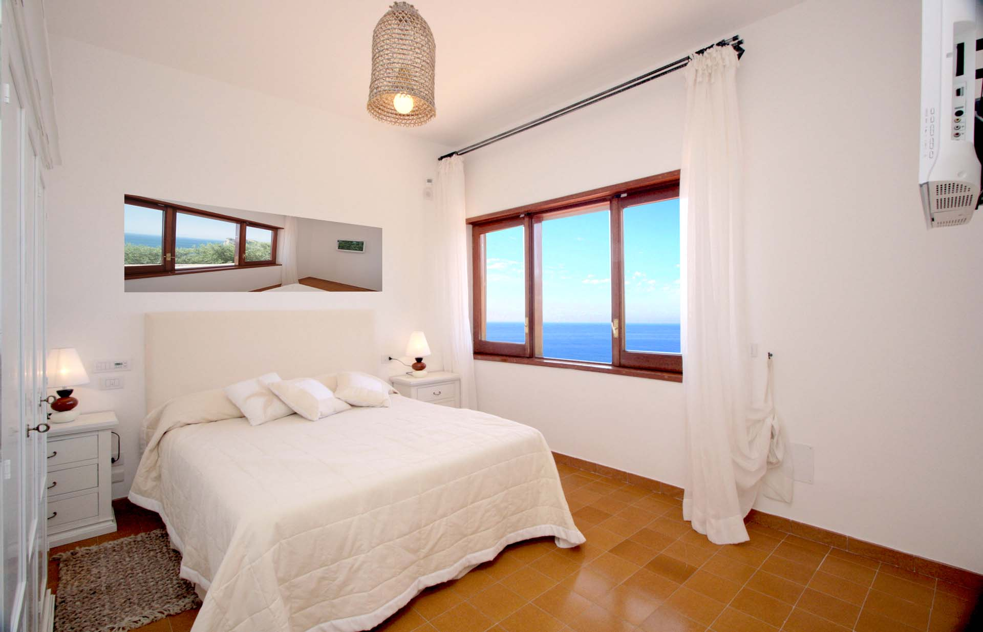 Luxury Nerano Villa Bedroom Two