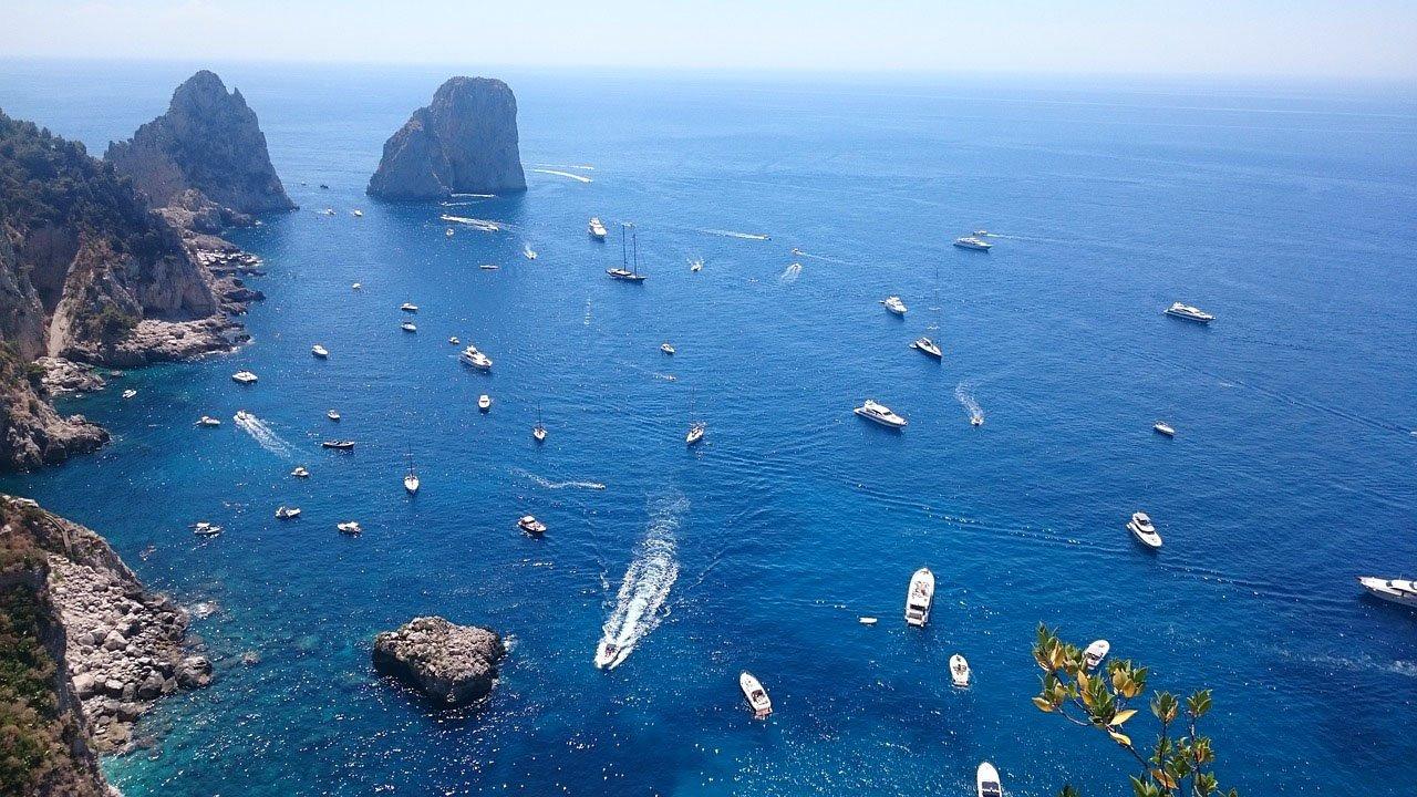Capri boat tour from Sorrento - Marina Piccola