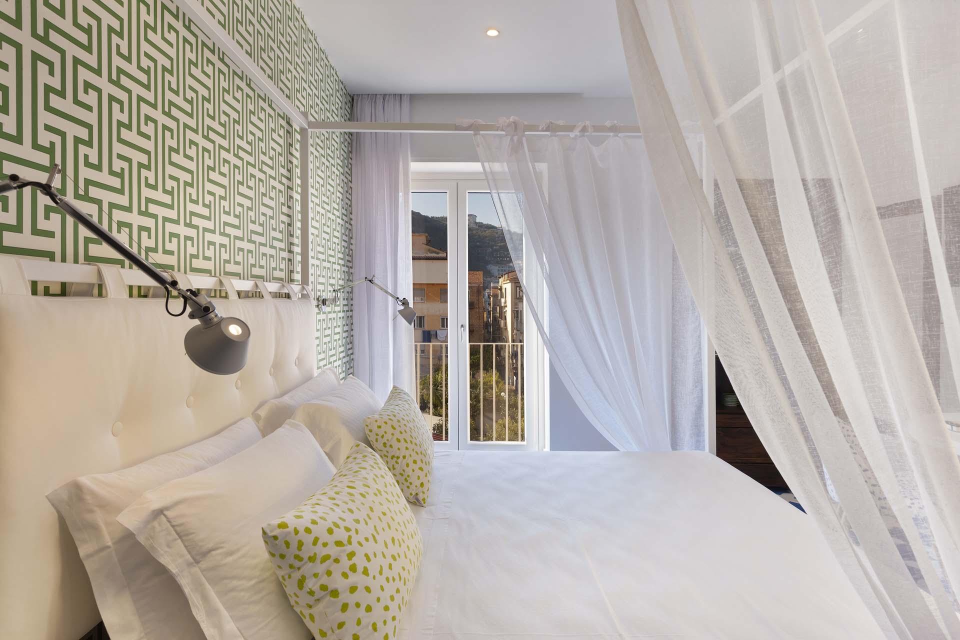 Libeccio Master Bedroom Scirocco Luxury Sorrento Apartment