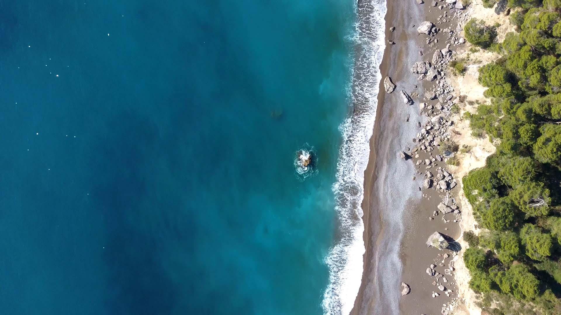 Spiaggia di Tordigliano, foto Adriano Alfaro