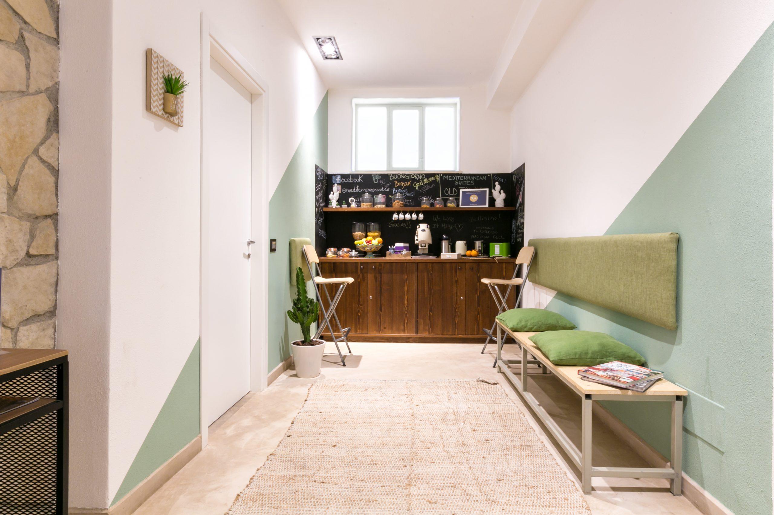 Mediterranean Suites rooms in Sorrento entrance