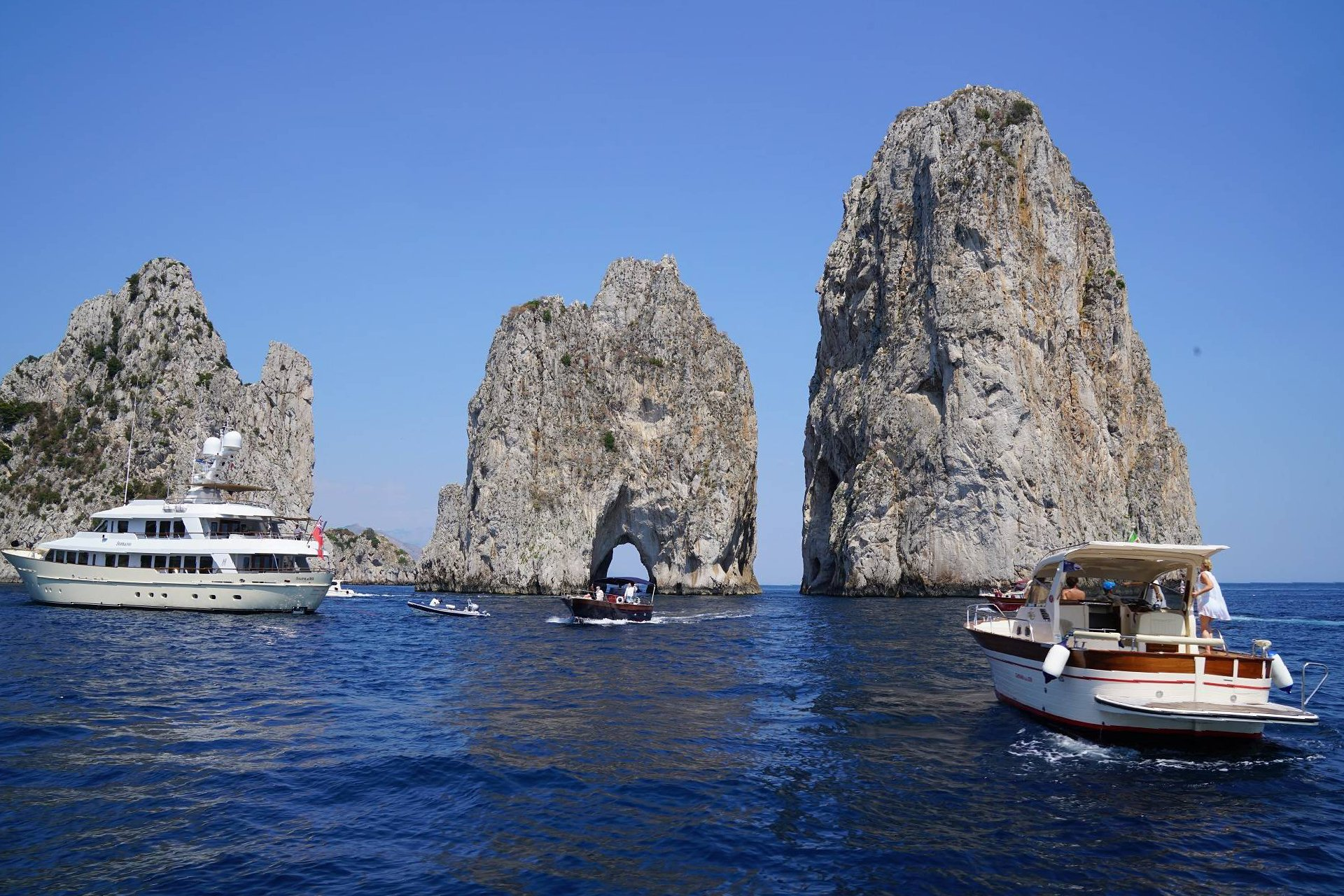 Capri Tours in Sorrento and Amalfi Coast