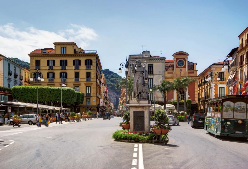 One Day in Sorrento Piazza Tasso