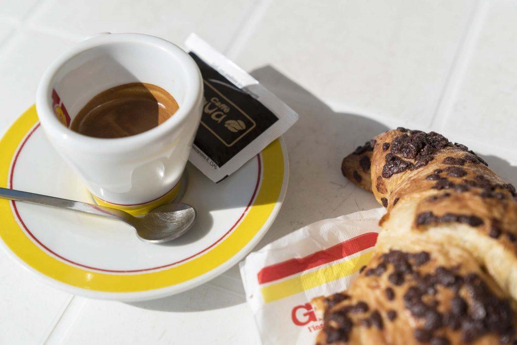 Breakfast in Sorrento, Italy