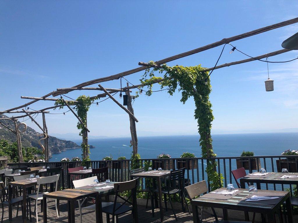 Capri rooftop, cocktails