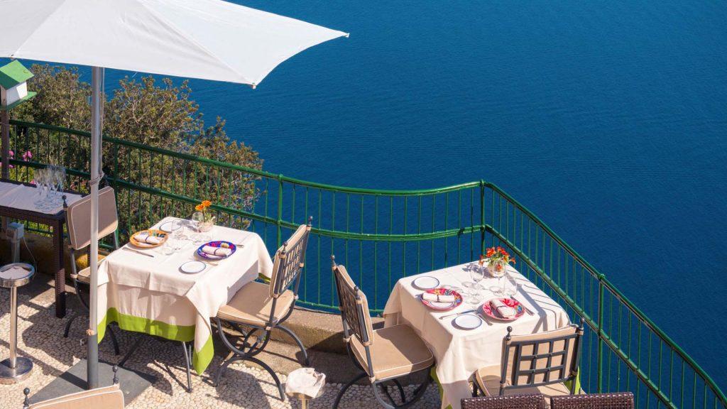 Caeser Augustus Terrace Capri