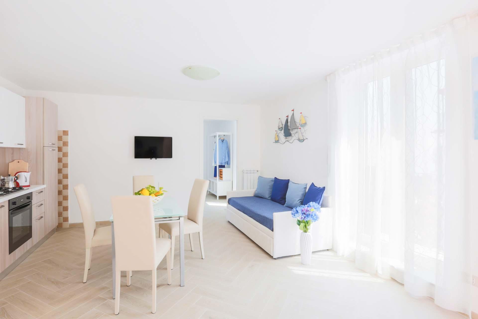 Marina Grande Apartment with Sea View