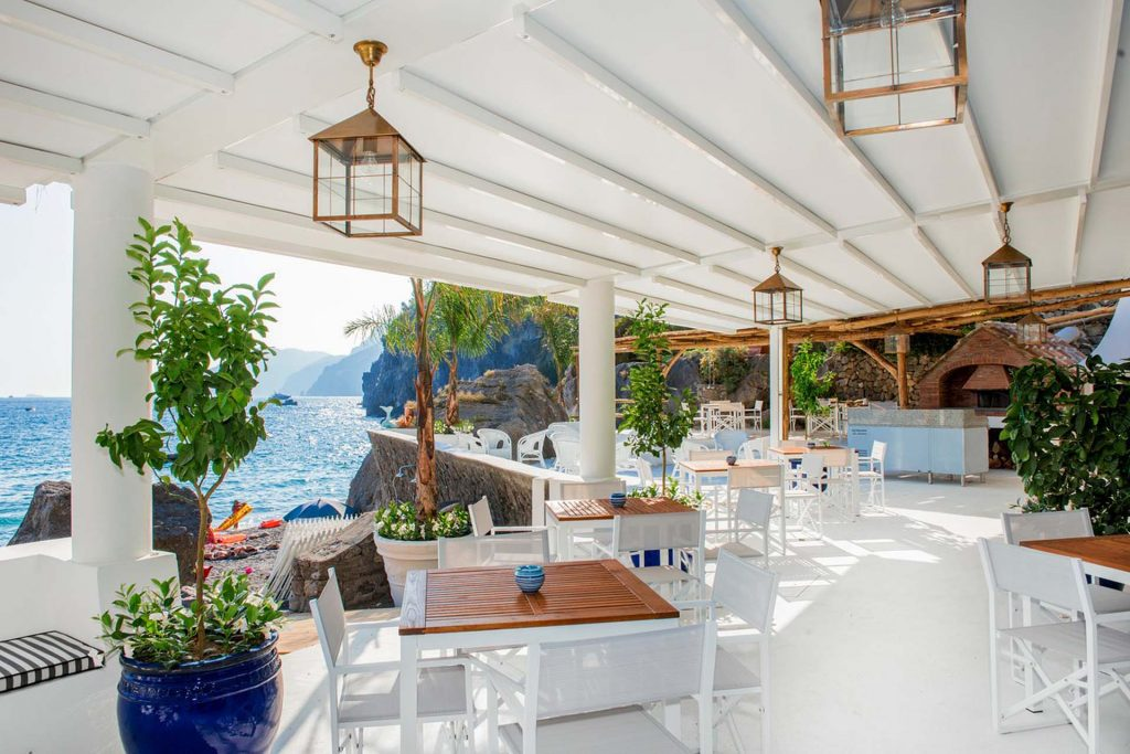 Luxury Beach Clubs in Capri