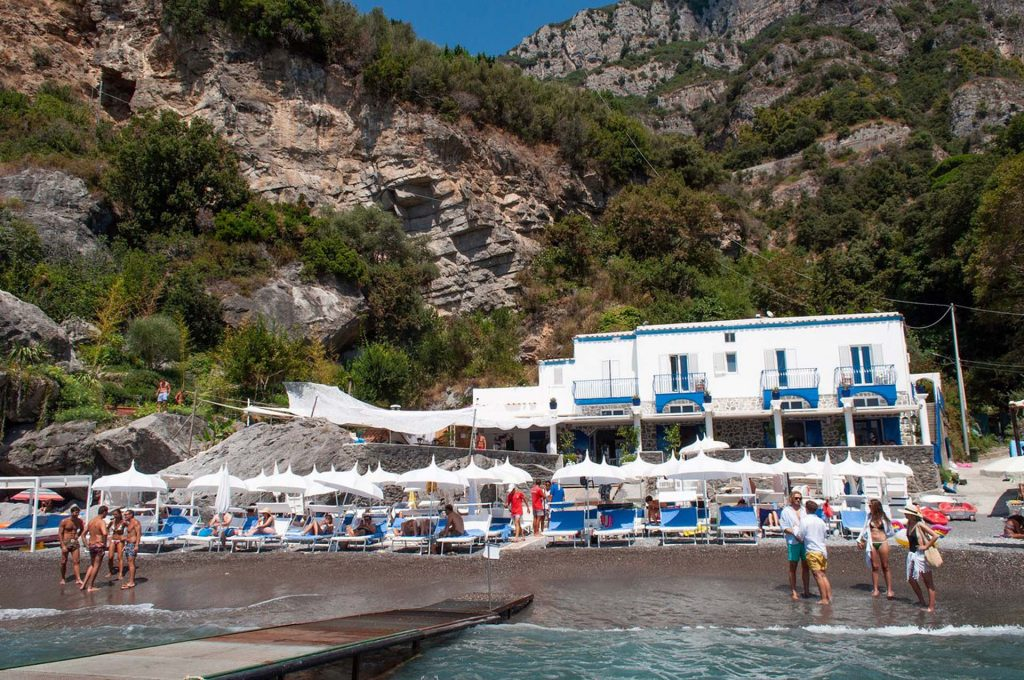 Luxury Beach Clubs in Capri
