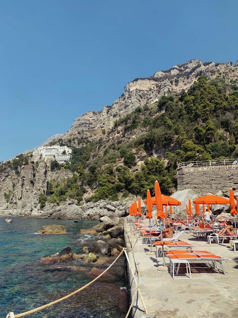 One Fire Beach Club Amalfi Coast
