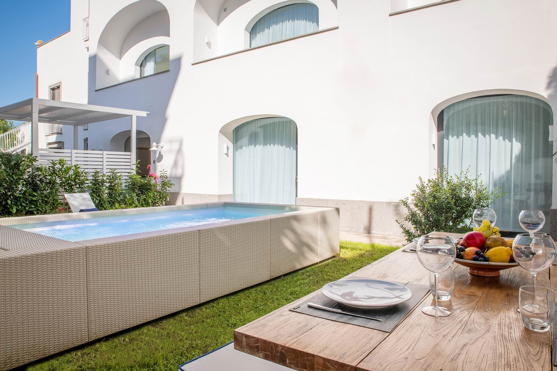 Luxury Apartment with Garden and Pool Sorrento Coast
