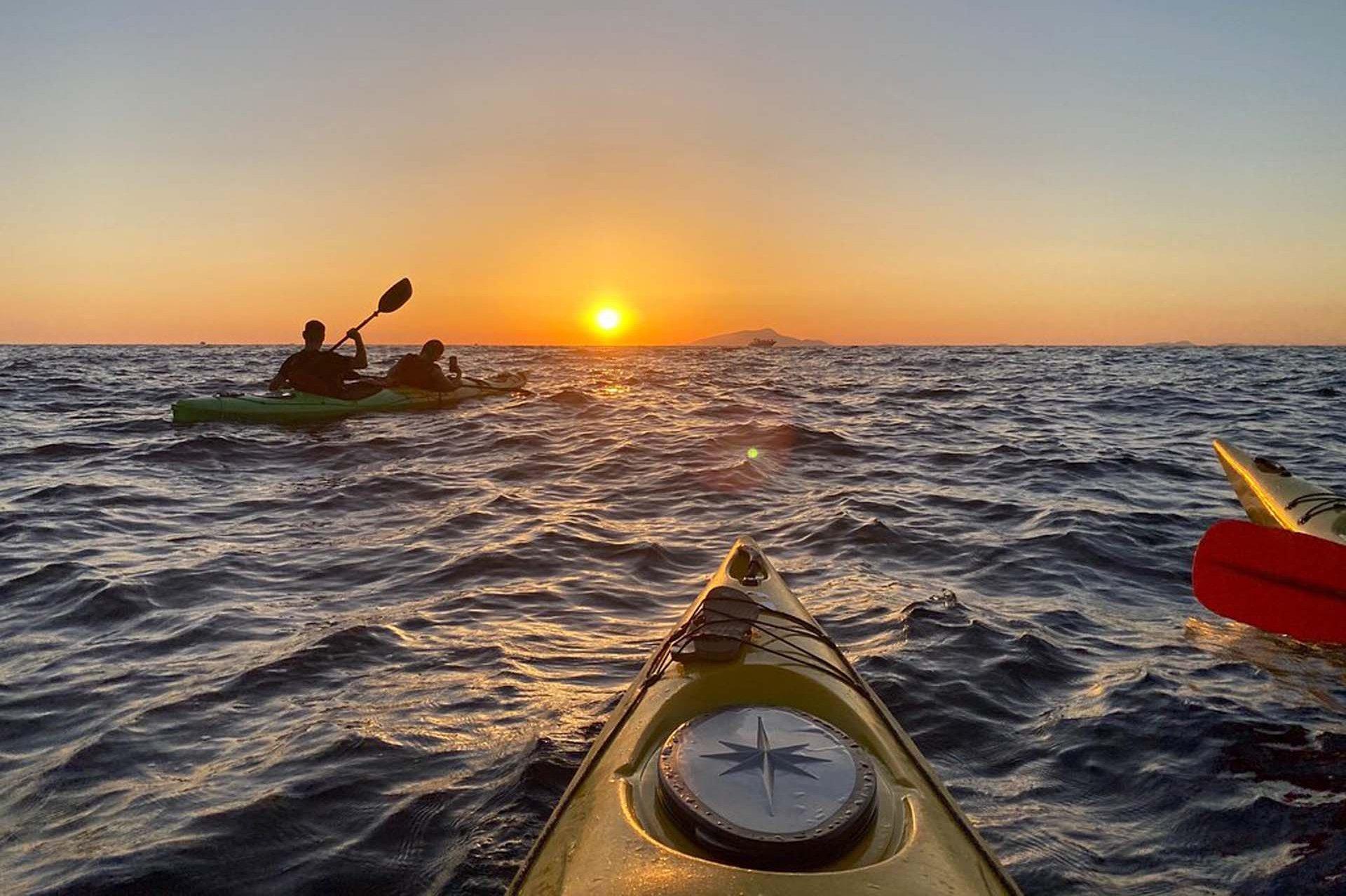 Sunset Sorrento Kayak Tour