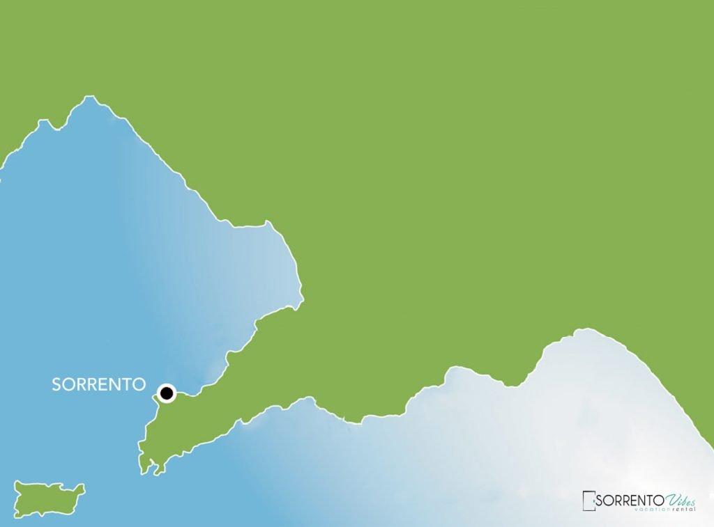 Sorrento Map
