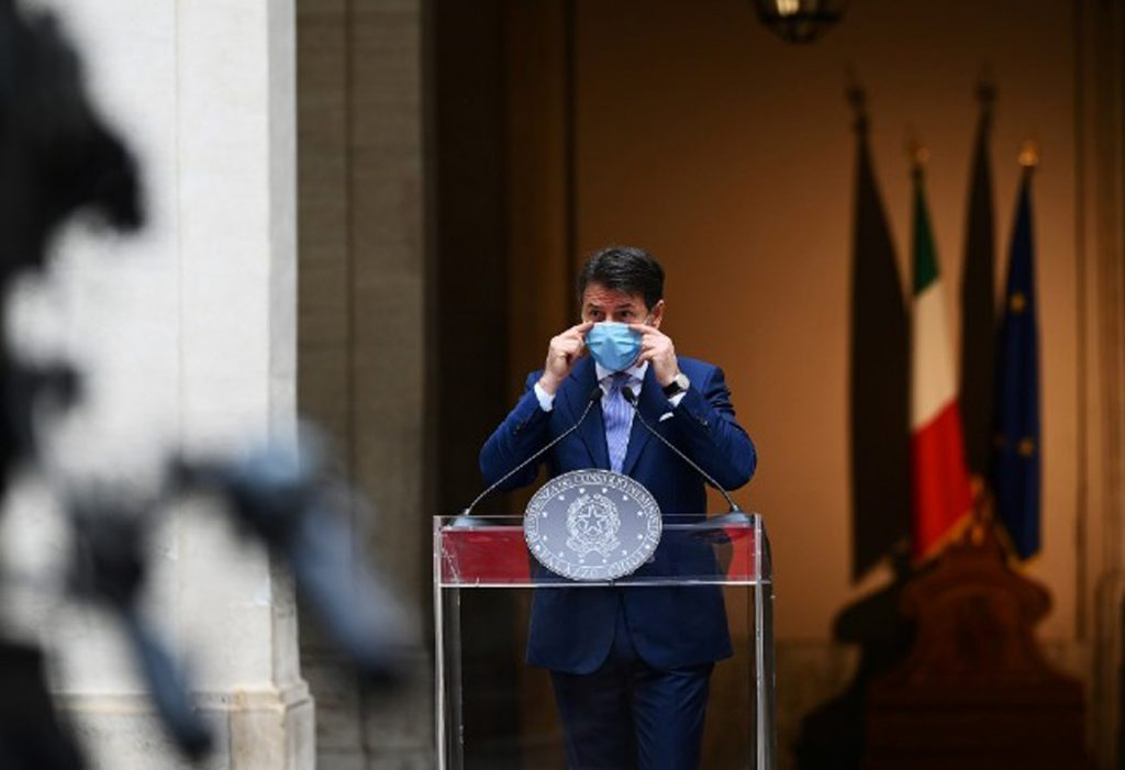 Giuseppe Conte Italian Prime Minister Coronavirus Update