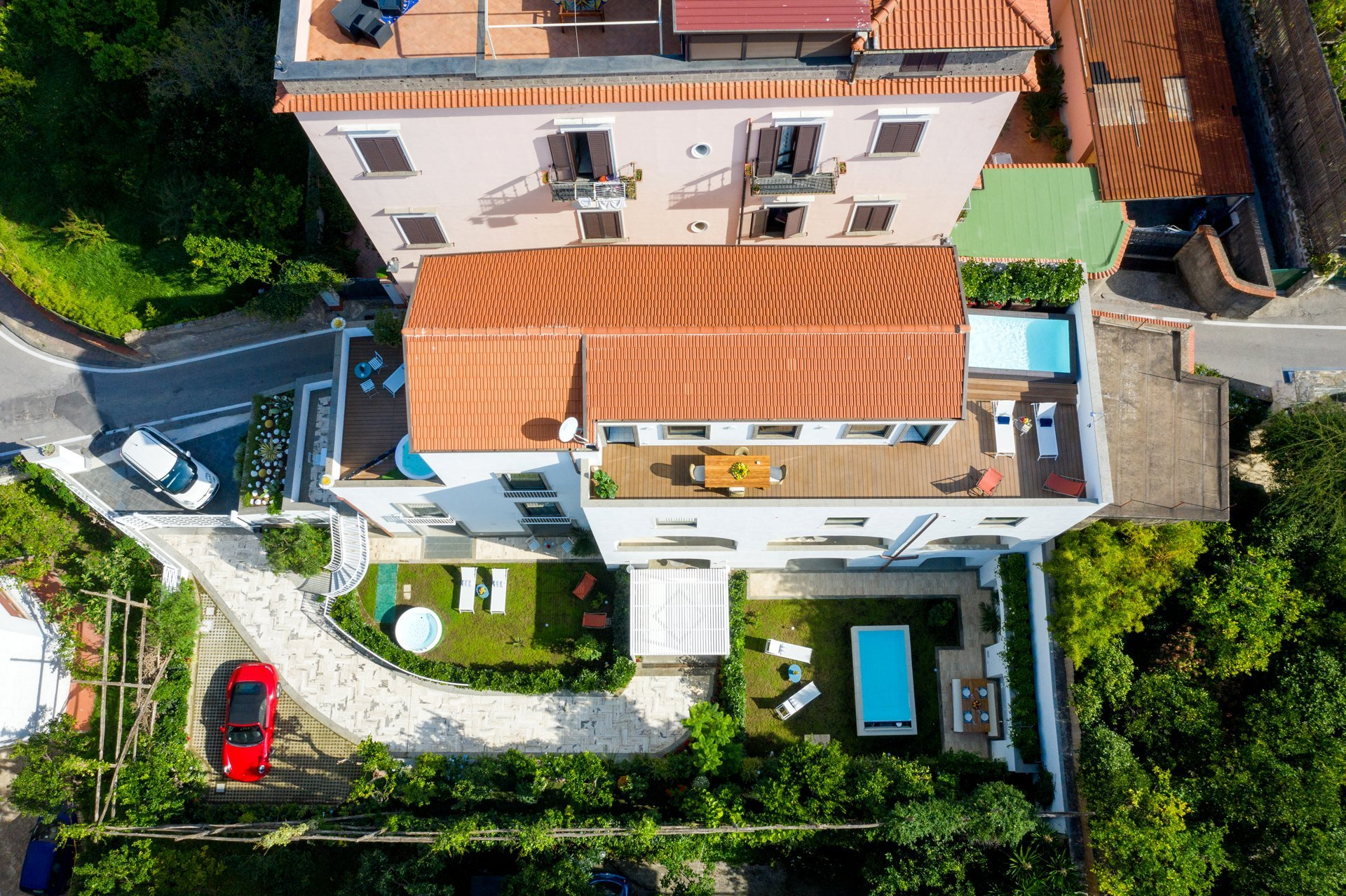 Luxury Villa with Penthouse, Pools and Sea View Sorrento Coast