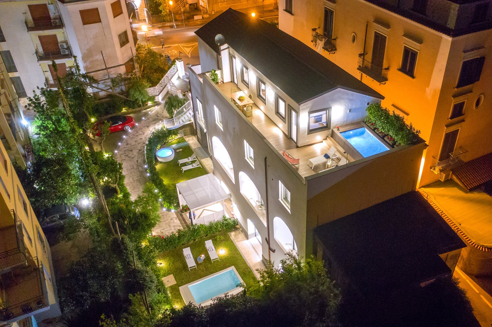 Luxury Villa with with Penthouse, Pools and Sea View Sorrento Coast