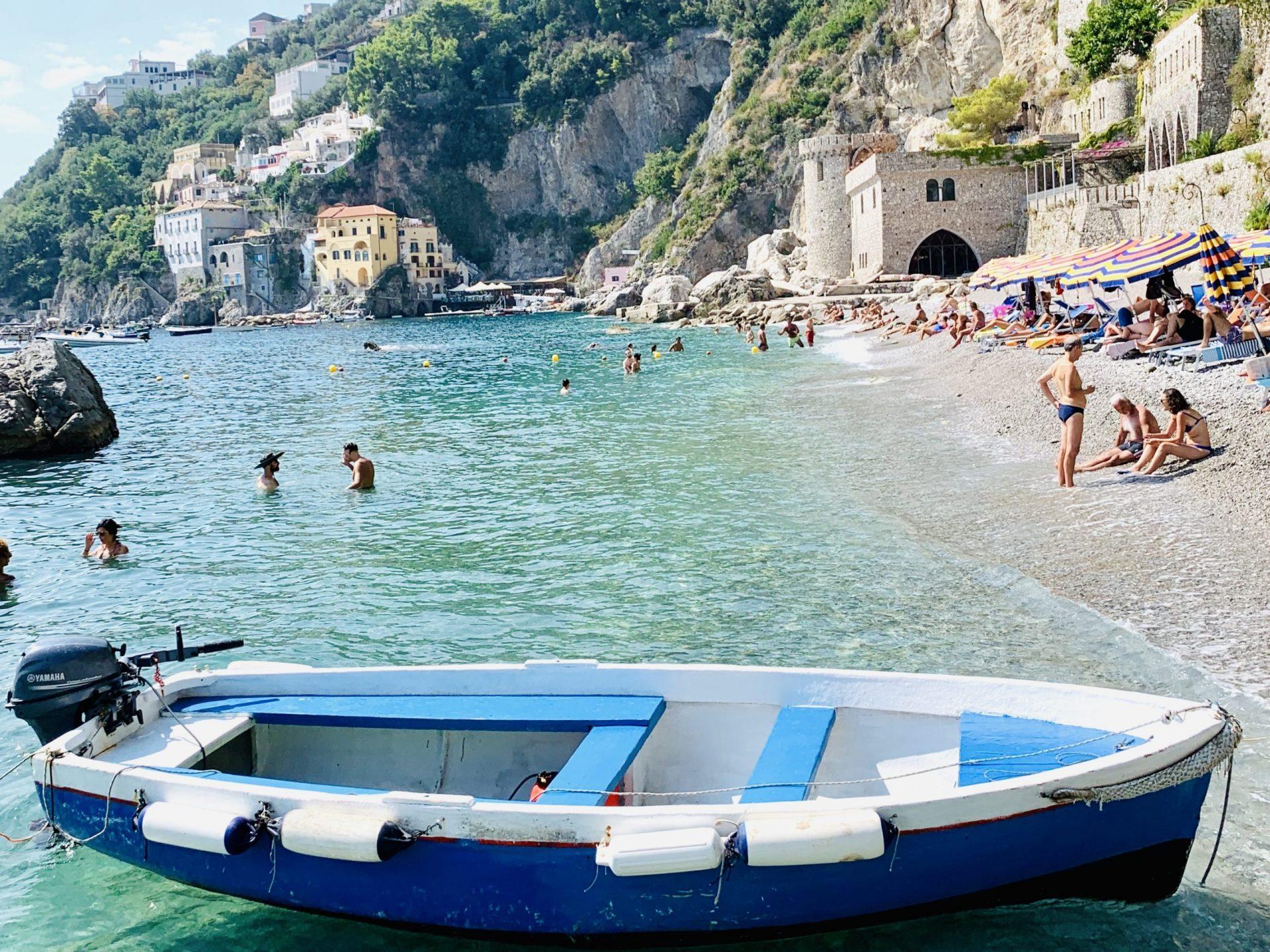 Beaches in Amalfi, Conca dei Marini