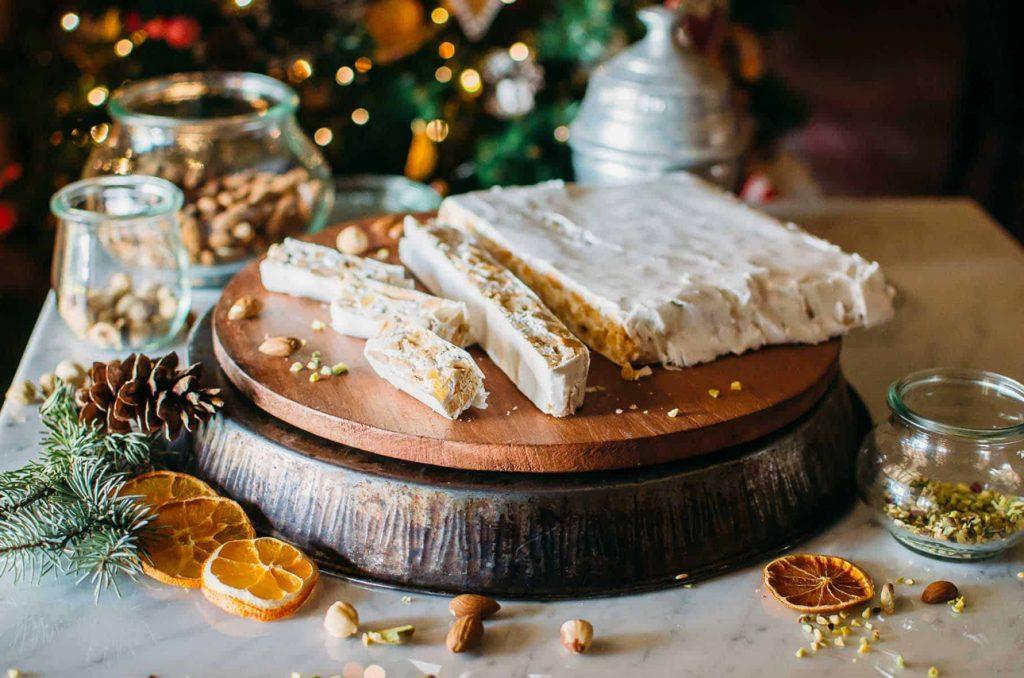 Torrone di Natale Italian Christmas Sweets