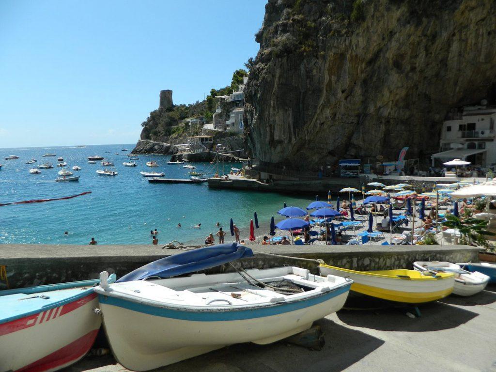 Marina di Praia Amalfi Coast