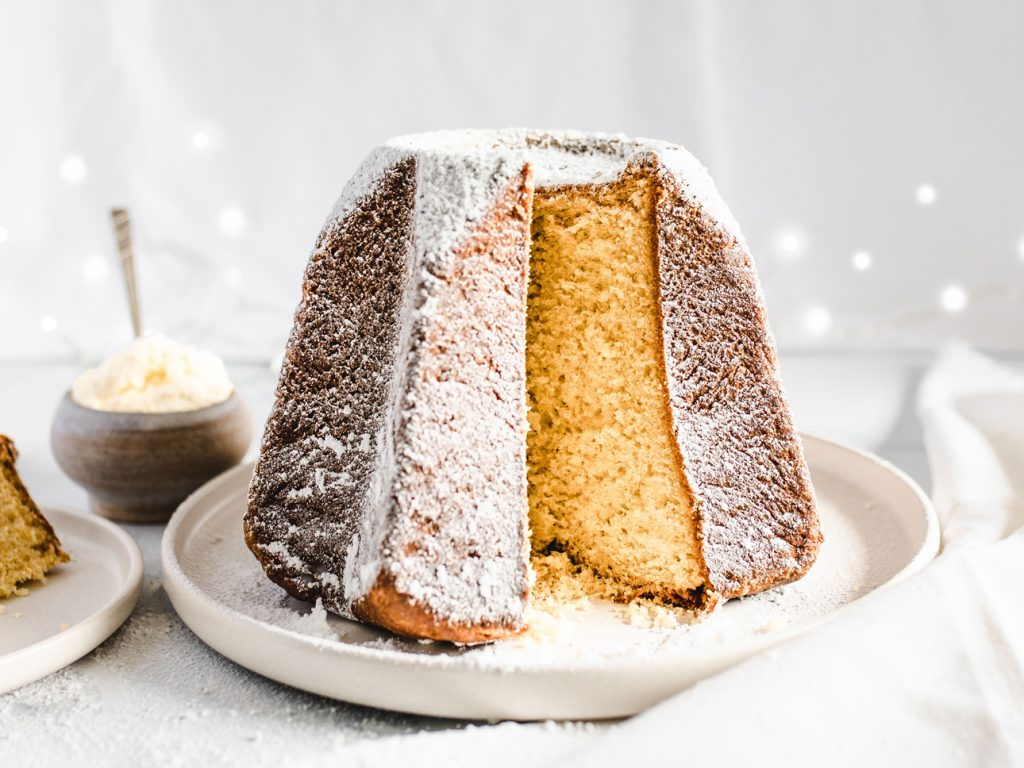 Pandoro Italian Christmas Sweets