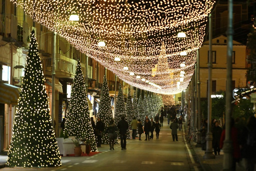 Christmas Lights in Sorrento